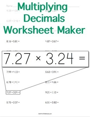 Math Worksheets And Flash Cards  ScoopIt