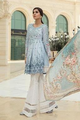 0c1dc660e9e3 Maria B UK - Luxury Spring Ready to Wear New Embroidery Lawn 2018