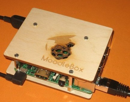Framboise + Moodle = MoodleBox [MoodleBox] |  robotique-codage-technologie-low-tech |  Scoop.it