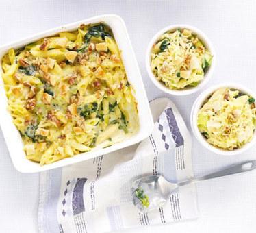 Cheese & spinach penne with walnut crumble | Restaurant Profit Guru | Scoop.it
