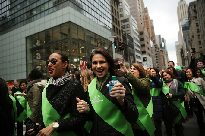 Back Stories: LGBT Groups Join St. Patrick's Day Parade (VIDEO)