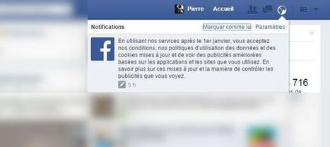 Ce que Facebook cache derrière sa nouvelle politique de confidentialité | L3s5 infodoc | Scoop.it