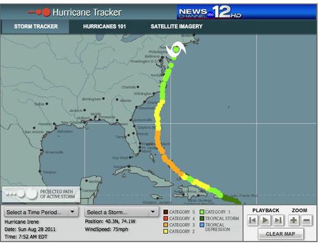 Hurricane Tracker   Mapping NYC hurricane   Scoop.it
