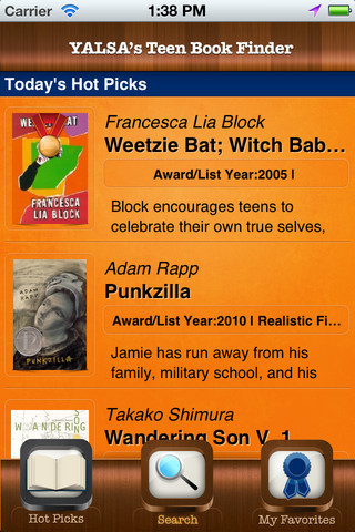 Teen Book Finder App now Available in the App Store — The Digital Shift   Literacy Instruction   Scoop.it