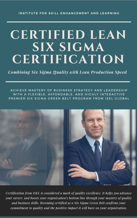Lean Six Sigma For Managers Iselglobal