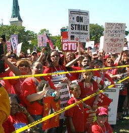 #US: #Chicago teachers vote to continue strike, Mayor threatens injunction | Revolutionary news | Scoop.it