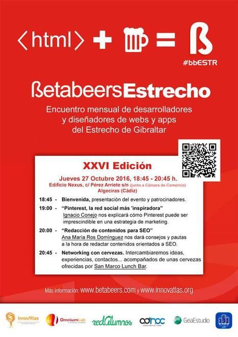 BetaBeers Estrecho de Gibraltar el jueves 27 | Seo, Social Media Marketing | Scoop.it