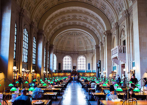 Why The Boston Public Library Is Discarding Books | Library collections for learning | Scoop.it