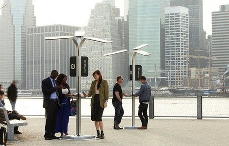25 portable charging stations coming to NYC to help juice you and your phone   Windows Phone Central   Tendances : société   Scoop.it