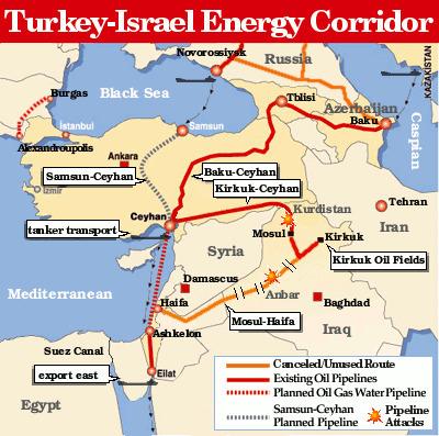 Israël reçoit la première livraison de pétrole  du pipeline kurde controversé ' Histoire de la Fin de la Croissance ' Scoop.it