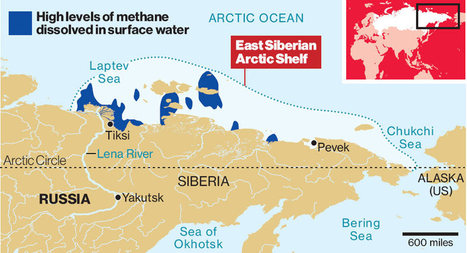 Vast Deadly Methane 'Plumes' Seen in Arctic Ocean And Around The World | CLIMATE CHANGE WILL IMPACT US ALL | Scoop.it