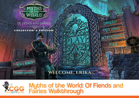 Myths of the World: Of Fiends and Fairies Walkthrough: From CasualGameGuides.com | Casual Game Walkthroughs | Scoop.it