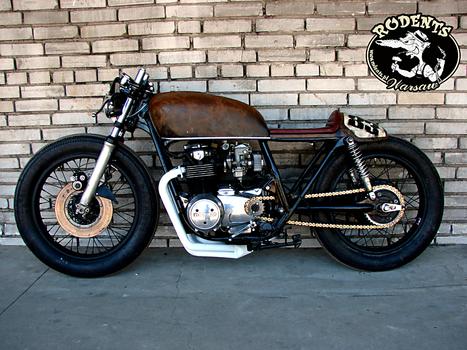 cafe racer cb550 – idee per l'immagine del motociclo
