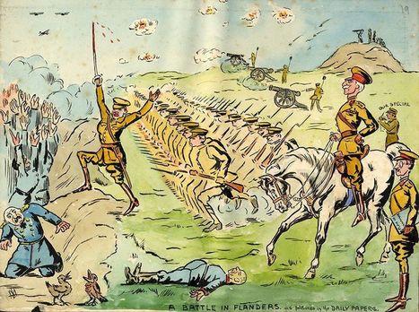 Le dessinateur inconnu de la Grande Guerre | Geopolis | Les princesses de Marie | Scoop.it