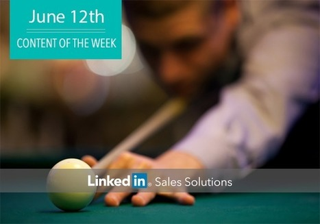Social Selling Tips of the Week: Play the Angles   Social Selling:  with a focus on building business relationships online   Scoop.it