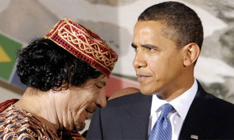 Libya: Obama tells Gaddafi to withdraw or face UN-backed air strikes   Coveting Freedom   Scoop.it