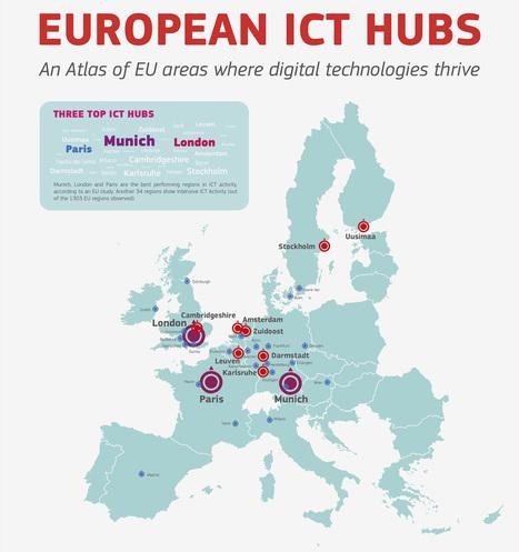 Los centros más importantes de Europa en el sector de las TIC   Asuntos de Interés   Scoop.it