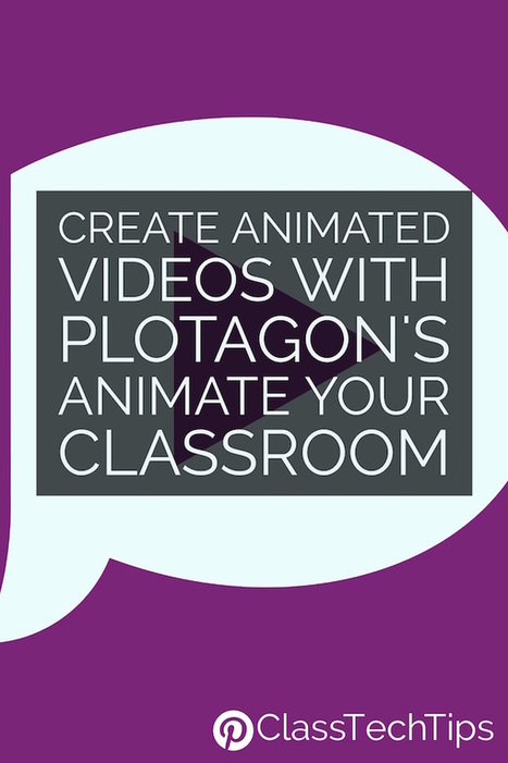 Create Animated Videos with Plotagon's Animate Your Classroom - Class Tech Tips | Education Technology - theory & practice | Scoop.it