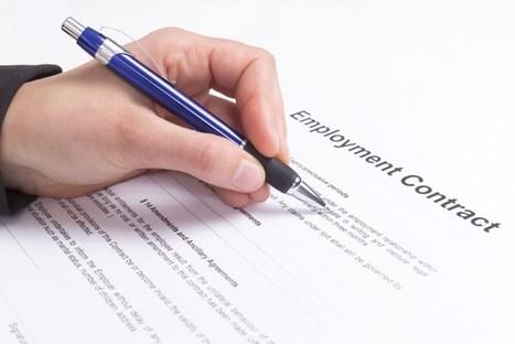 Le futur du contrat de travail ? Les CGU !   Digitalisation des compétences   Scoop.it