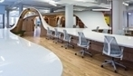 An Office With a Single Desk to Seat All 125 Employees - DesignTAXI.com. Form over Function?   MyFM   Scoop.it