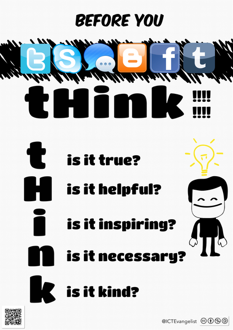 Digital Citizenship & a poster for your school - Mark Anderson's Blog | Digital Citizenship is Elementary | Scoop.it