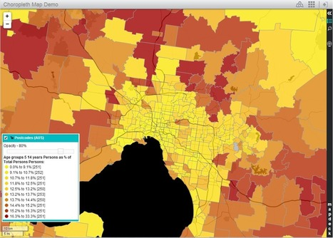 Presenting spatial data with Thematic Mapper | Digital Cartography | Scoop.it