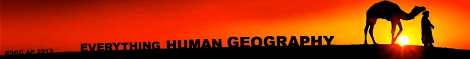 Everything Human Geography