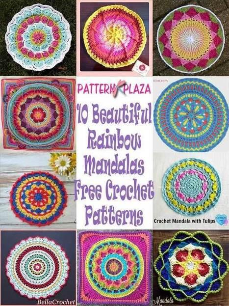 Flower Cup Holder Liner Free Crochet Pattern
