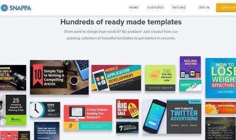 Snappa: utilidad web para crear imágenes sin ser diseñador | Tecnología Educativa e Innovación | Scoop.it