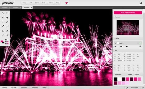 ::: Picozu Image Editor ::: Application de retouche d'images en ligne | CRÉER - DESSINER EN LIGNE | Scoop.it