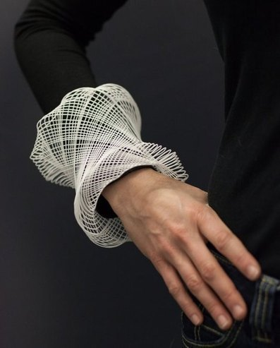 Guilloché Cuffs by Gregory Phillips | Parametric Architecture and Design | Scoop.it