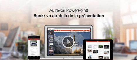 Bunkr un logiciel de présentation mieux que PowerPoint ?   WebZeen   Sky-future.net   Scoop.it