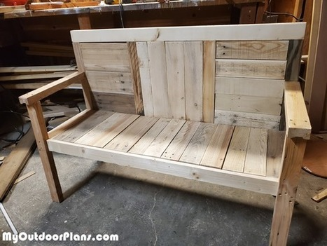 Terrific 2X4 Garden Bench Diy Project Myoutdoorplans Lamtechconsult Wood Chair Design Ideas Lamtechconsultcom