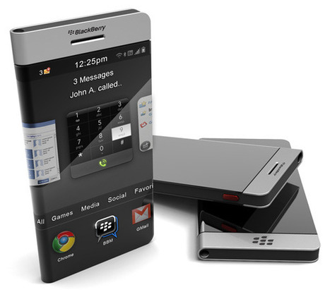 BlackBerry Concept Phone by John Anastasiadis | WEBOLUTION! | Scoop.it