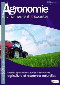 Revue AE&S vol.6, n°1, juin 2016 : Regards agronomiques sur les relations entre agriculture et ressources naturelles | AGRONOMIE VEGETAL | Scoop.it