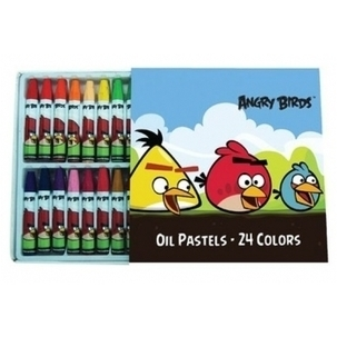 Angry Birds 24 Color Oil Pastels | Technical & Social News | Scoop.it