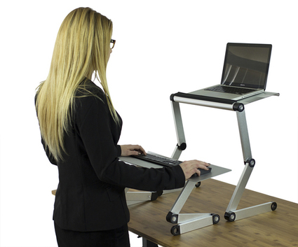 Standing Desk Converter Adjustable Ergonomic