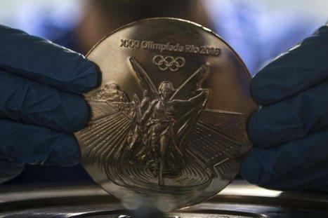 Una diosa griega con curvas brasileñas, así serán las medallas de Rio 2016   Referentes clásicos   Scoop.it