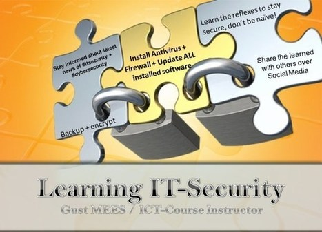 Cyber-Security Practice: Learn it in one week | teaching with technology | Scoop.it