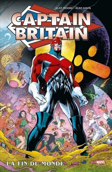 Captain Britain d'Alan Moore ressort aujourd'hui ! | Comics France | Scoop.it