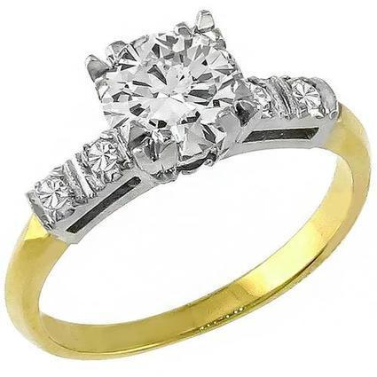 Charming Peice Of Antique 0.60ct Diamond Engagement Ring | Social Media Marketing | Scoop.it