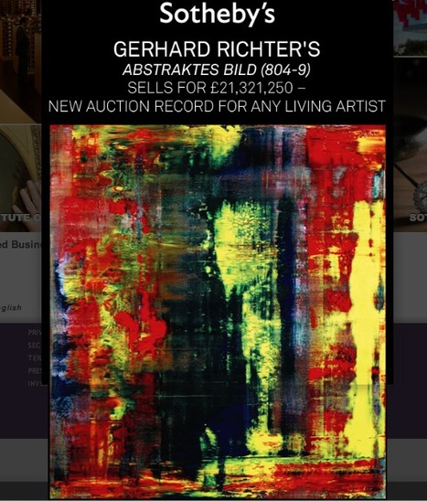 Eric Clapton's Gerhard Richter Painting Fetches $34 Million, World Record Price For Living Artist | Fine Art | Scoop.it