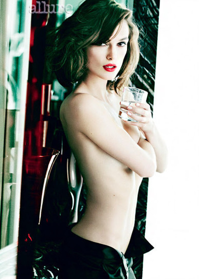 """Celebrity for the World: Keira Knightley addresses anorexia rumors for being topless in """"Allure"""" 