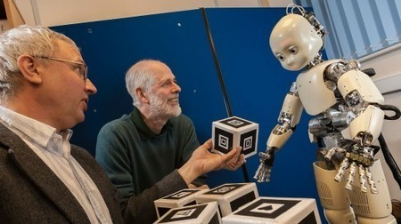 English researchers teach the iCub robot to form words | Empathy, Evolution, and American Literature | Scoop.it