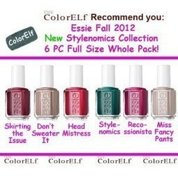 Reviews This Essie 2012 Fall Stylenomics Collec