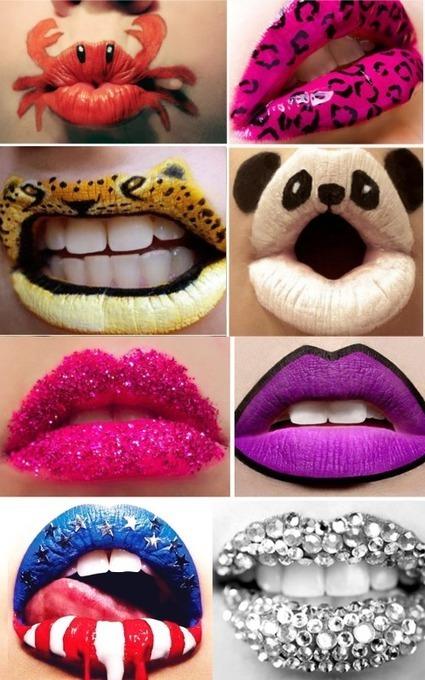 Actus beaute - Sur nos lèvres.... Le Lip Art ! | Actualités Beauté | Scoop.it