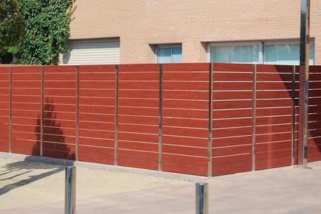 39 jardin 39 in cerramientos met licos vallas cercados - Verjas de madera ...
