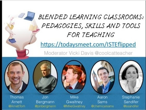 Blended Learning Slides and Resources #iste2016 | blended learning | Scoop.it