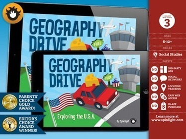 Price Drops: Geography Drive USA 75% Off for End of School Sale | Appy Hour with Apps to Rock Your EdTech World | Scoop.it