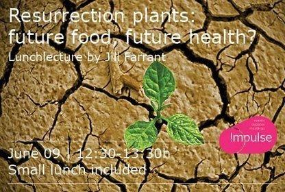 Lecture of JillFarrant: Resurrection of plants: future food, future health? | Wageningen Seed Lab | Scoop.it